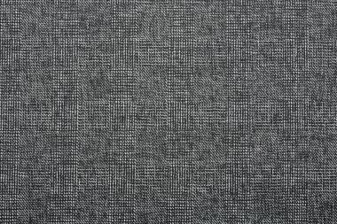 Gray fine fabric, textile texture background stock vector