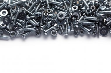 Nuts and bolts background