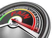 konceptuální hladinoměr bolest naznačují maximální