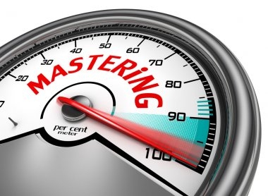 Mastering to hundred per cent conceptual meter