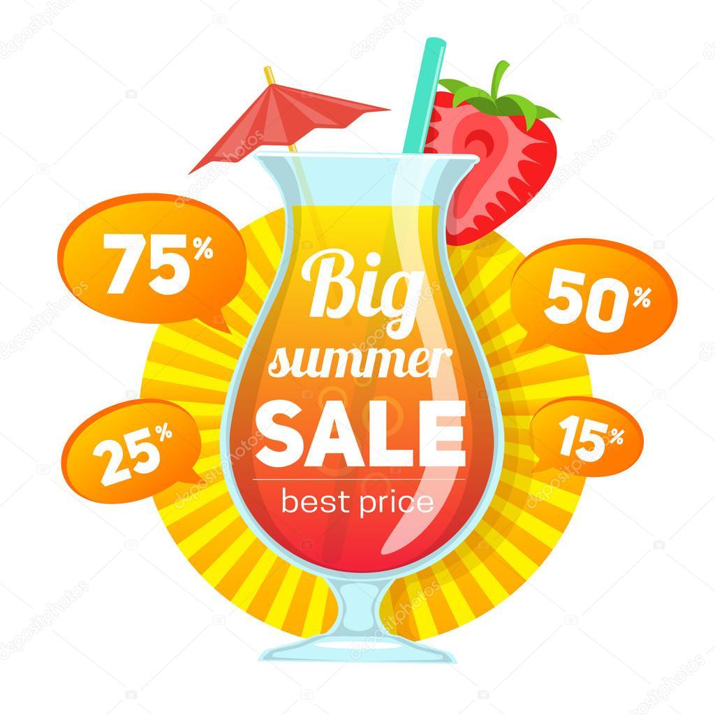 Cocktail Und Preis Angebote Stockvektor Chuhail 111604944