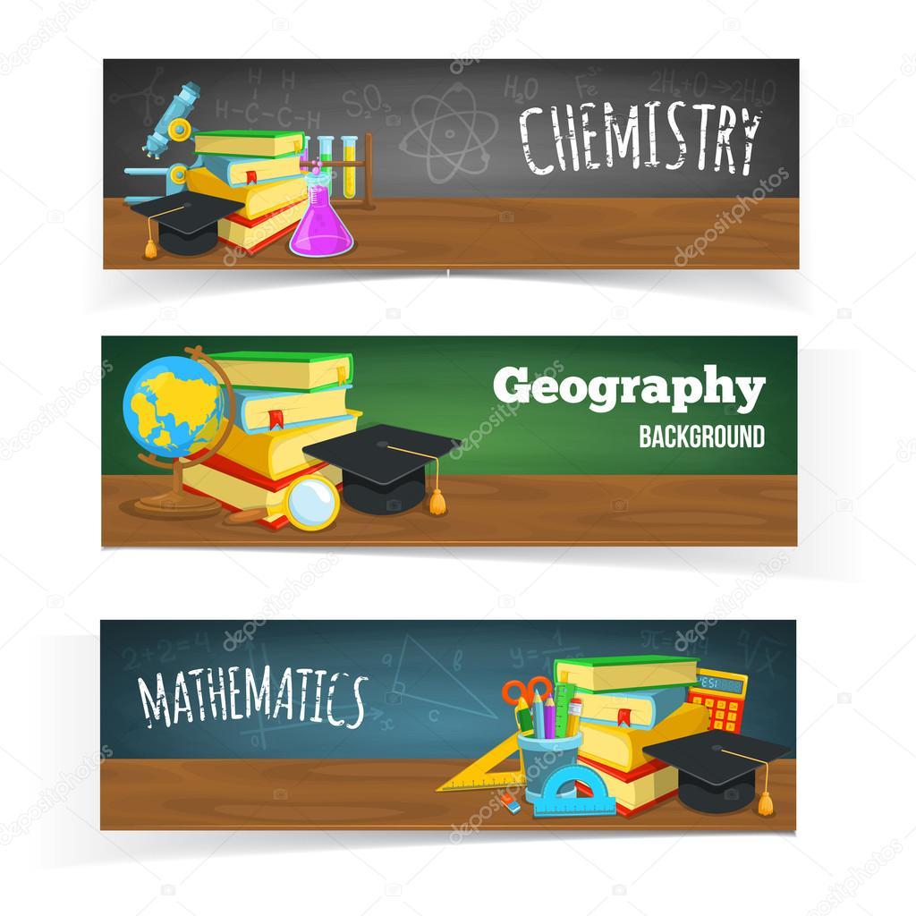 Science classes headers.