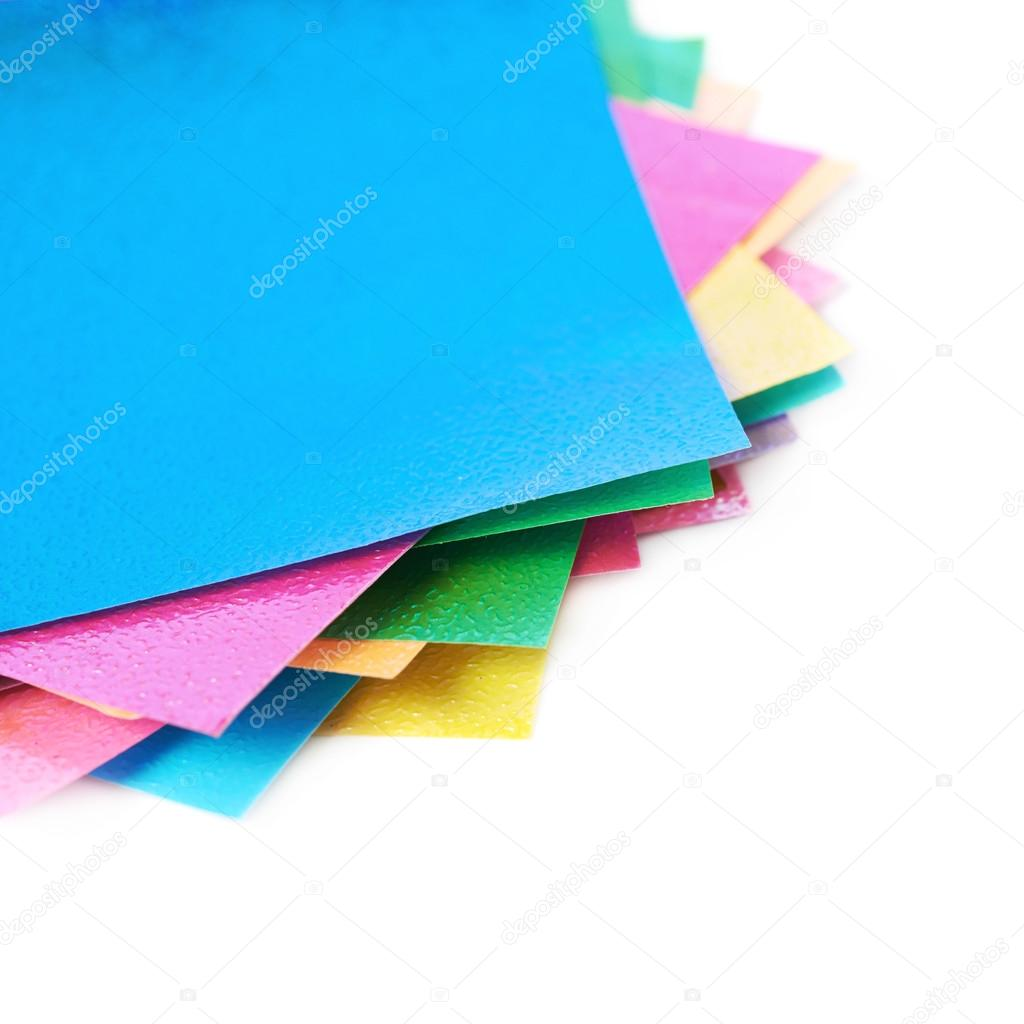 Twisted Pile Of Origami Papers Stock Photo Nbvf89 116839446