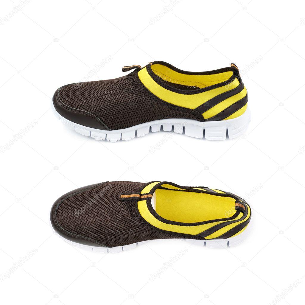496e0f677f7 Φως τρέχοντας αθλητικά παπούτσια απομονωθεί — Φωτογραφία Αρχείου ...