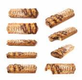 Čokoládovou kryté banán závin buchta