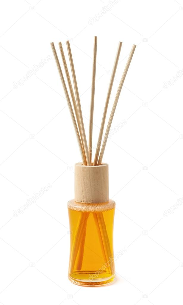 Aroma sticks in a vial isolated