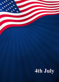 Fotografie Vector background for Independence Day and other events