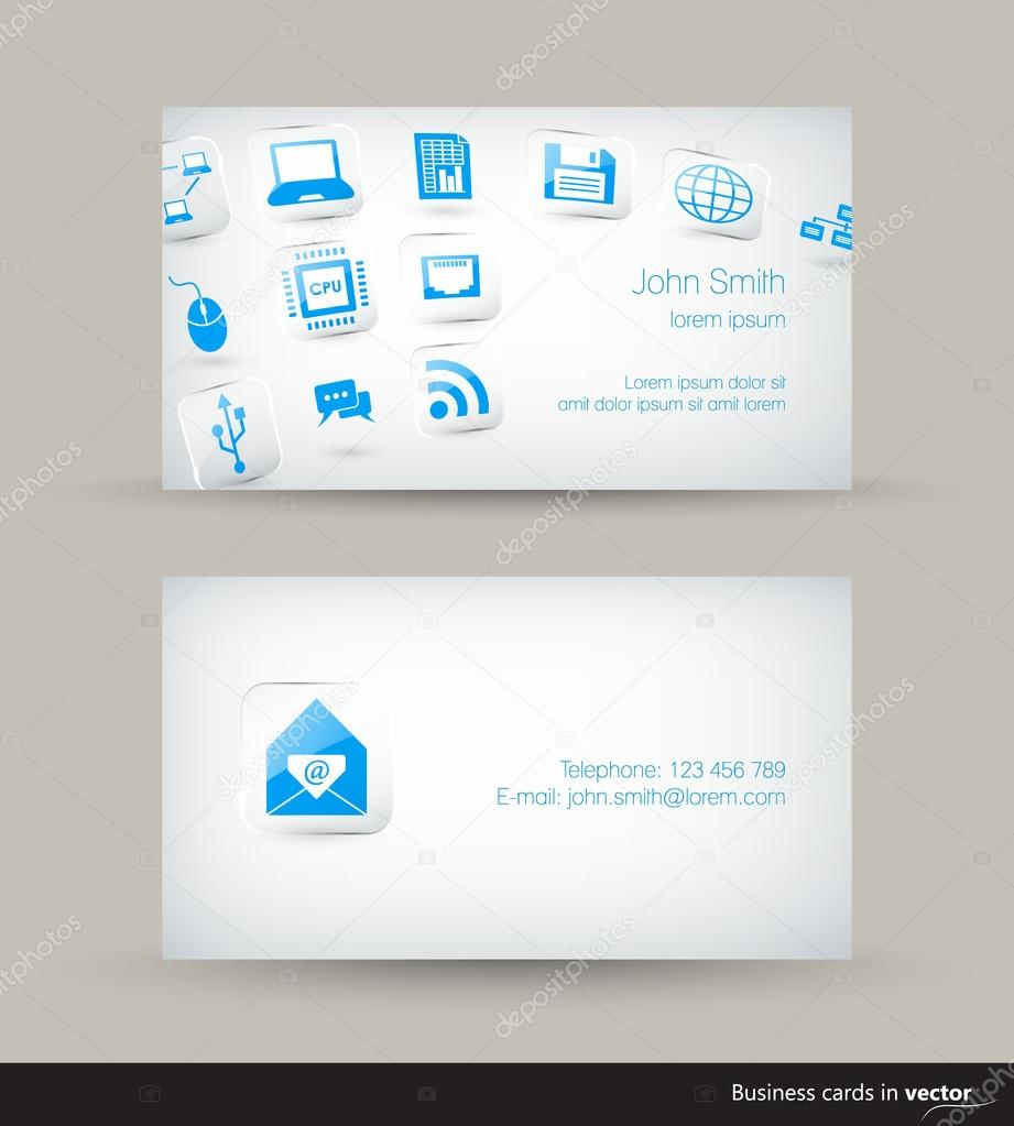 Technology business visit card with flying icons on light technology business visit card with flying icons on light background stock vector 94464248 magicingreecefo Gallery