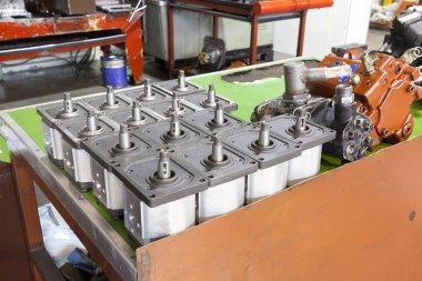 Parts of hydraulic pumps