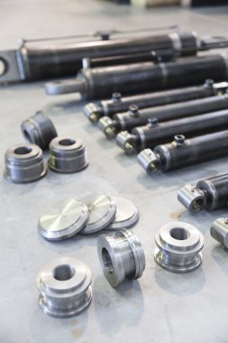 Parts of hydraulic pistons