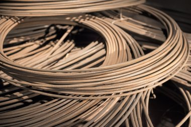 Coils of steel wires
