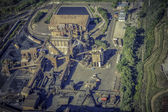 Photo Heavy industry zone ,aerial view