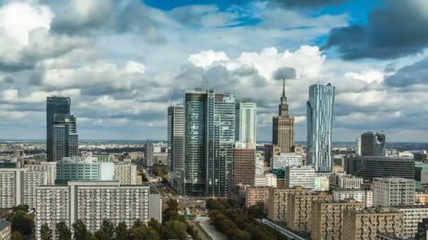 Varsó Skyline város