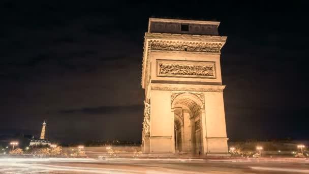 Arc de Triumph noční provoz