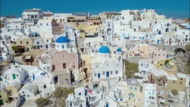 Blue Dome Churches on Santorini Island