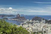 panorama pohled z Rio de Janeiro