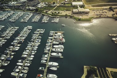 Marina full of Boats