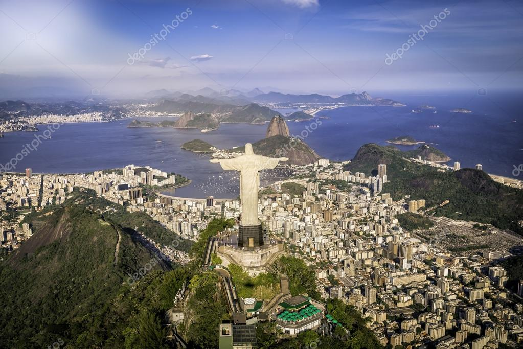 Christ and Botafogo Bay