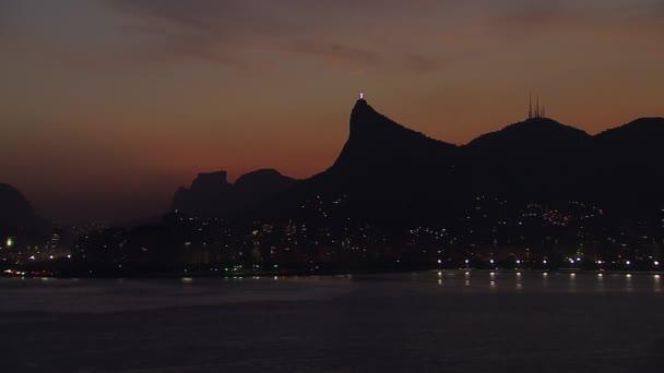 Rio de Janeiro Küste bei Sonnenuntergang
