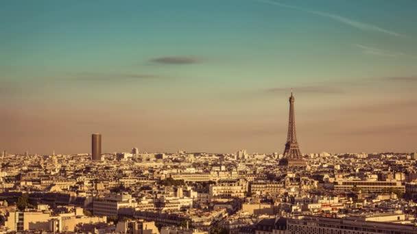Město Paříž Eiffelova věž