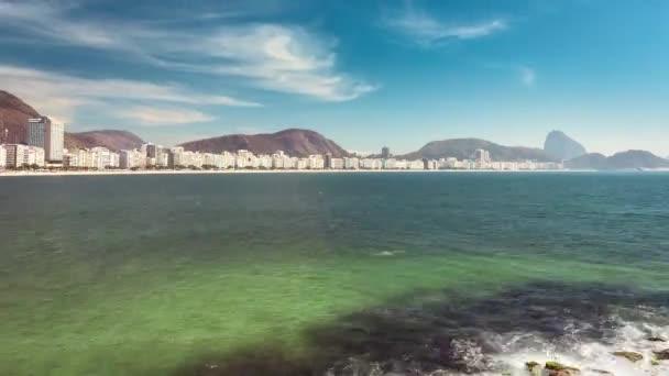 Copacabana Beach panorama