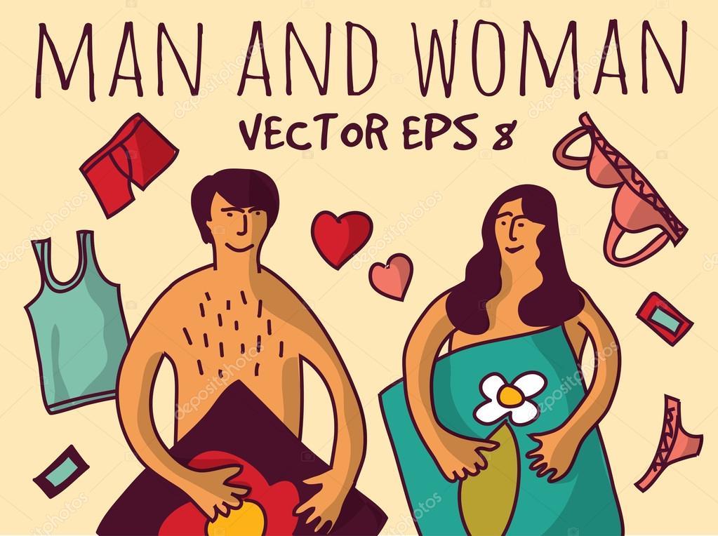 Секс в векторной паре