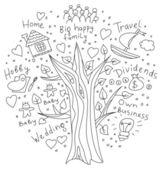 Čmáranice strom snů a cílů