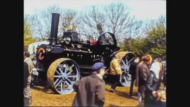 United Kingdom 1969, Historic tractor exposed 9