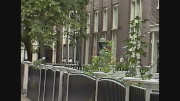 Holandsko 1989, typický holandský dům