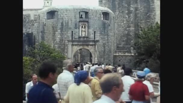Chorvatsko 1975, Dubrovník město s turistickou návštěvou