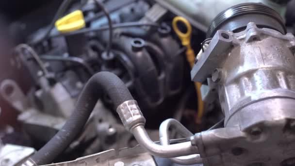 Car engine detail workshop 2