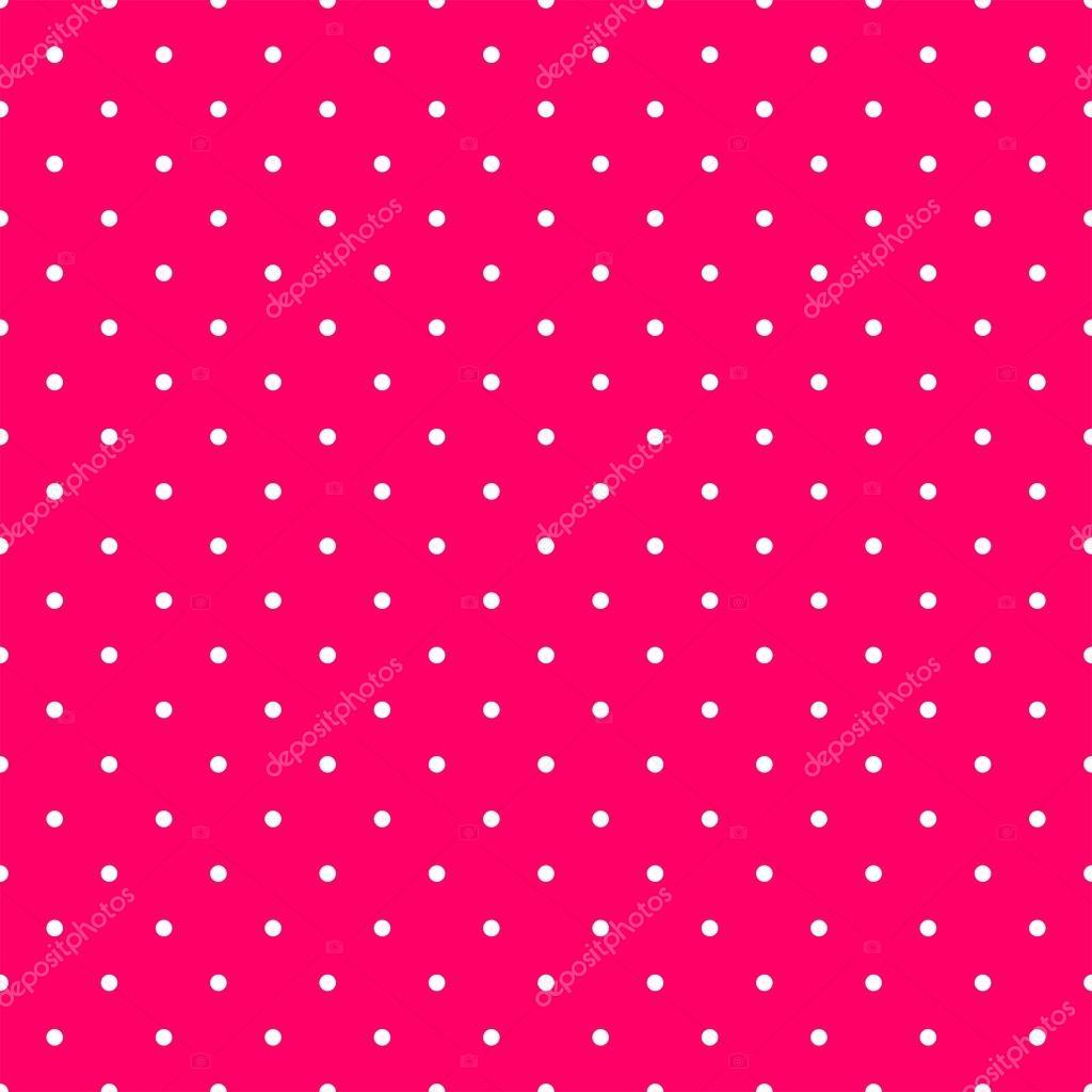 azulejos patrn vector con pequeos lunares blancos sobre fondo rosa para fondo de pantalla decoracin vector de mala ma - Azulejos Rosa