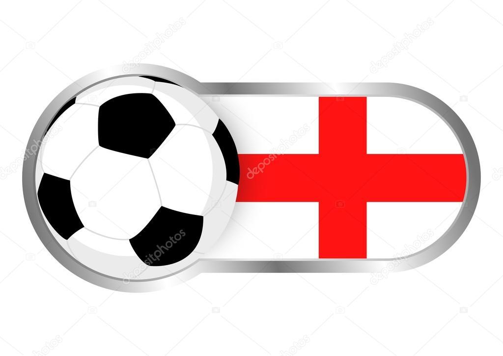 England Fussball Ikone Stockvektor C Rudall30 110904684