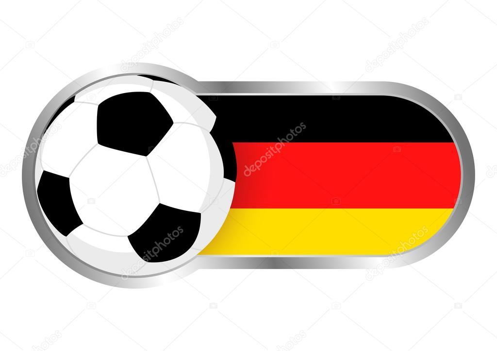 Deutschland Fussball Ikone Stockvektor C Rudall30 110904704