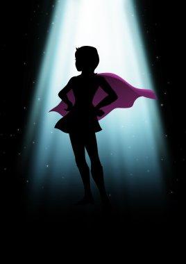Super-heroine