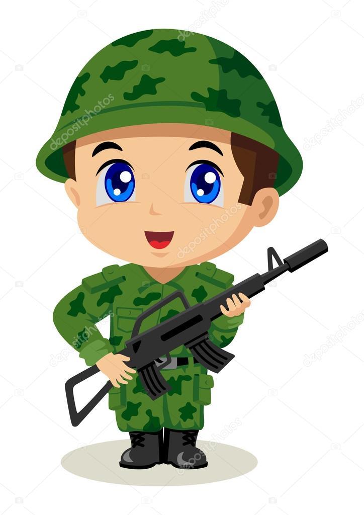 Soldado de chibi archivo im genes vectoriales rudall30 for Imagenes movibles anime