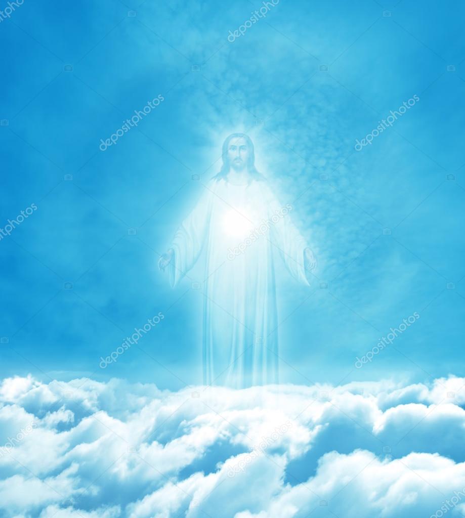 jesus christ in heaven — stock photo © bolina #76108363