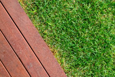 Combinations of grass and timber