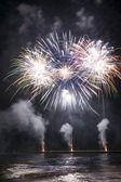 Feuerwerk in forte dei marmi