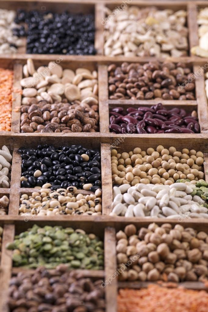 The legumes mixed