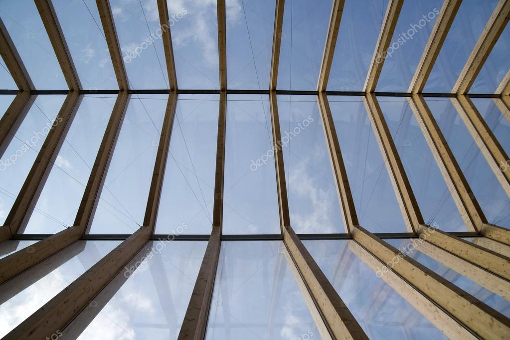 Tetto in legno e vetro foto stock fotografiche 97416758 for Tetto in vetro prezzi