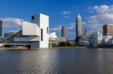 Cleveland - July 14: the rock & roll Hall of fame designed by