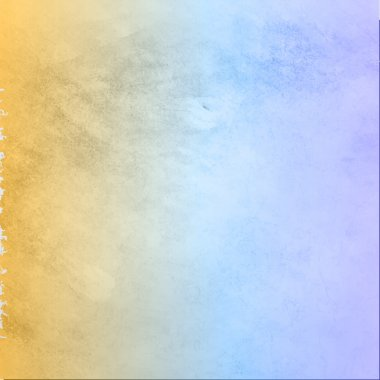Vector Grunge color texture, yellow and blue color. Old scratched surface clip art vector