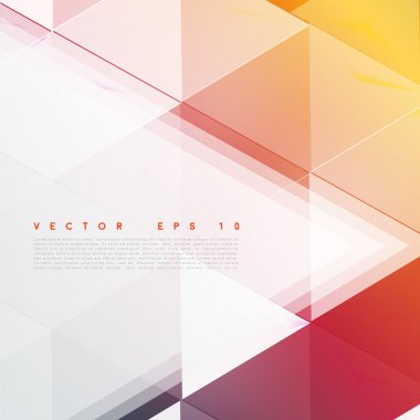 Vector background abstract polygon triangles. polygonal design geometrical clip art vector