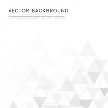 Vector background abstract polygon triangles. polygonal design geometrical stock vector