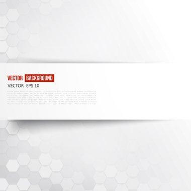 Vector abstract color 3d hexagonal. Background with hexagon element clip art vector