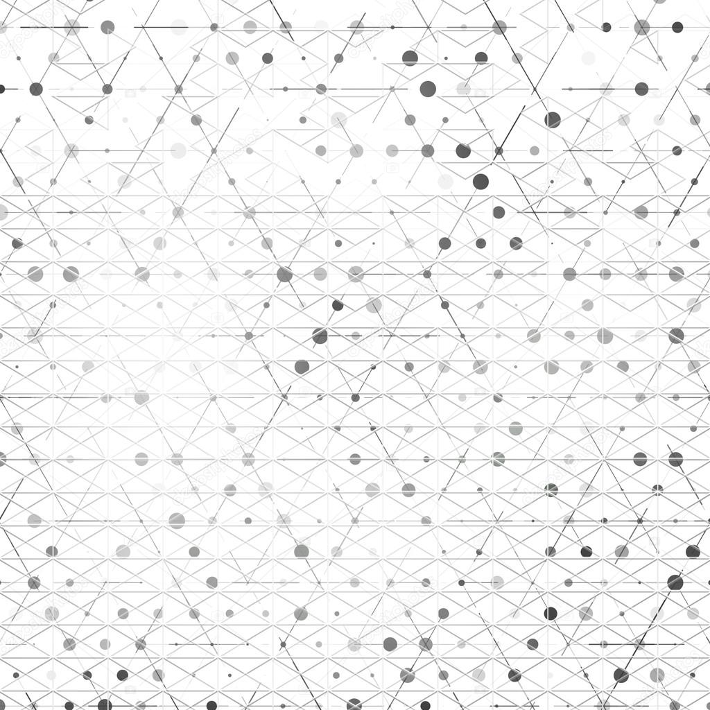 Vector Abstract geometric shape from triangles.