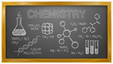 Chemistry, Science, Chemical Elements, Blackboard