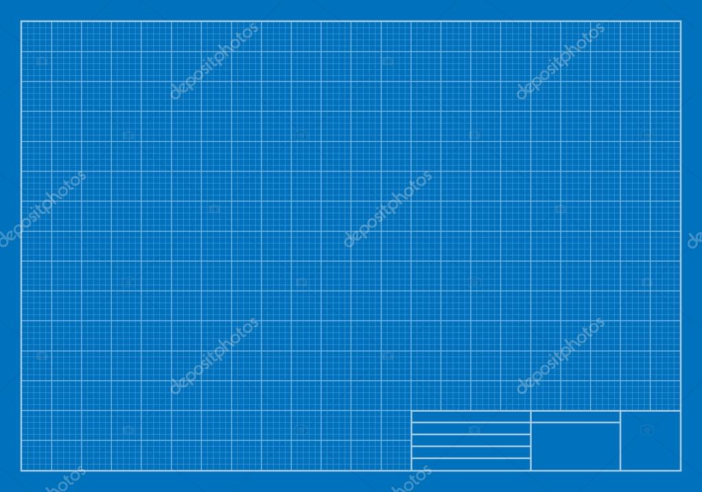 Drafting blueprint grid architecture stock vector for Architecture blueprint