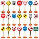 Fotografie Verkehrszeichen, Verkehrsschilder, Transport, Sicherheit, Reisen